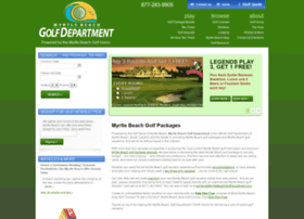myrtlebeachgolfdepartment.com