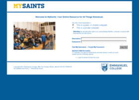 mysaints.emmanuel.edu
