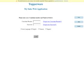 mysales.tupperware.com