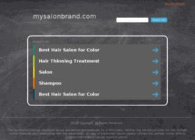 mysalonbrand.com