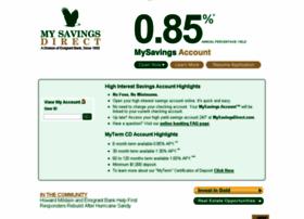 mysavingsdirect.com