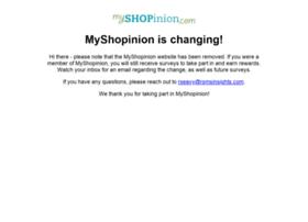 myshopinion.com