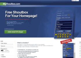 myshoutbox.com