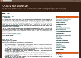 myshoutsandmurmurs.blogspot.com