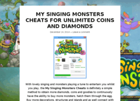 mysingingmonsterscheats2015.wordpress.com