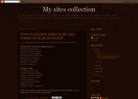 mysitescollection.blogspot.com