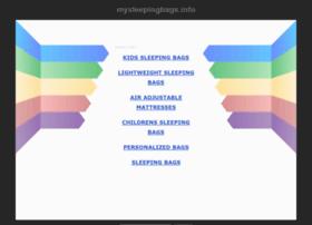 mysleepingbags.info
