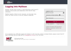 mysloan.mit.edu