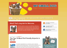 mysmalldog.com