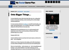 mysocialgameplan.com