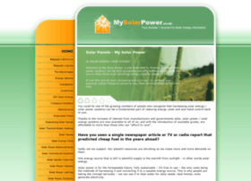 mysolarpower.co.uk