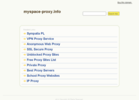 myspace-proxy.info