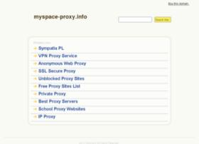myspace-proxy.info