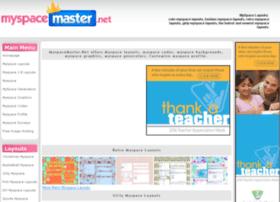 myspacemaster.net