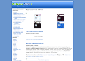 myspacetotal.com