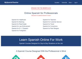 Myspanishteacher.com