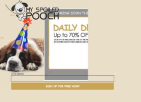 myspoiledpooch.com