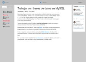 mysql.conclase.net