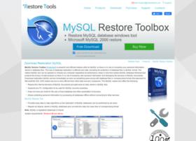mysql.restoretools.com