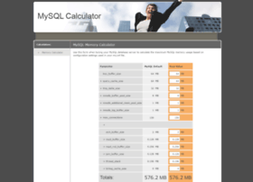 mysqlcalculator.com