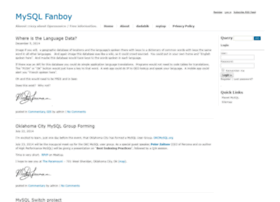 mysqlfanboy.com