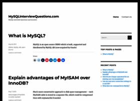 mysqlinterviewquestions.com