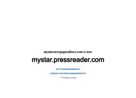 mystar.newspaperdirect.com