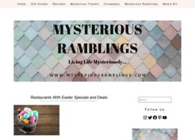 mysteriousramblings.com