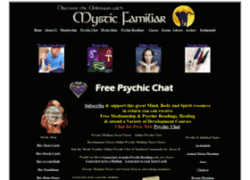 Mediumship Chat Rooms