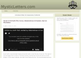 mysticletters.com