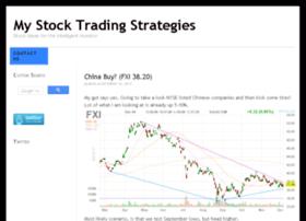 mystocktradingstrategies.com