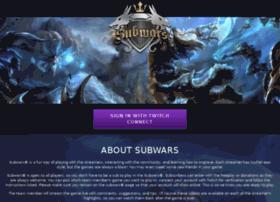 mysubwars.com