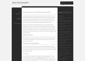 mytechencounters.wordpress.com