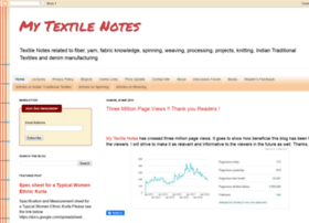 mytextilenotes.blogspot.com