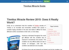 mytinnitusmiracleguide.com