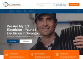 mytorontoelectrician.com