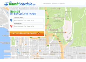 mytransitschedule.com