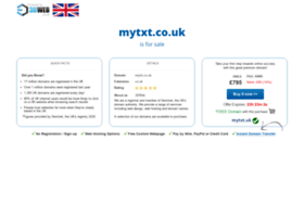mytxt.co.uk