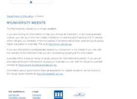 myuniversity.gov.au