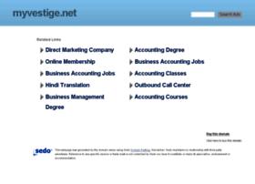 myvestige.net