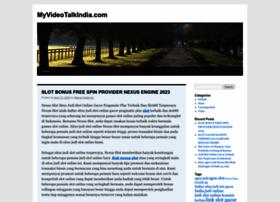 myvideotalkindia.com