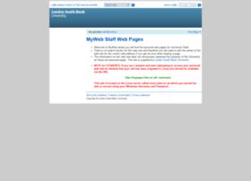 myweb.lsbu.ac.uk