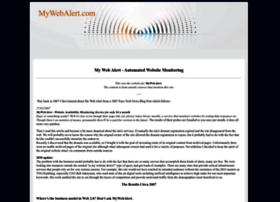 mywebalert.com