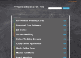 myweddingecards.net