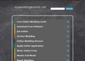 myweddingecards.net