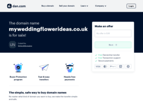 myweddingflowerideas.co.uk