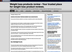 myweightlossproductsreview.blogspot.com