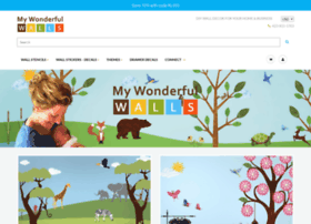 mywonderfulwalls.com