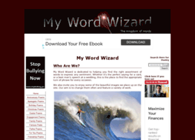mywordwizard.com