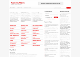 mzine.co.uk
